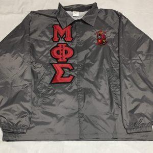 Mu Phi Sigma Grey Jacket