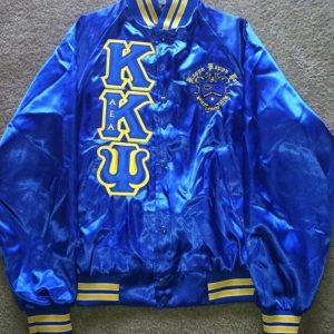 Kappa Kappa Psi Blue Satin Jacket B/G Trim