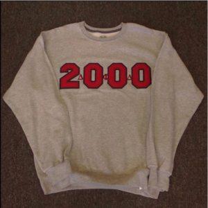 Delta Phi Delta Grey 2000 Sweatshirt