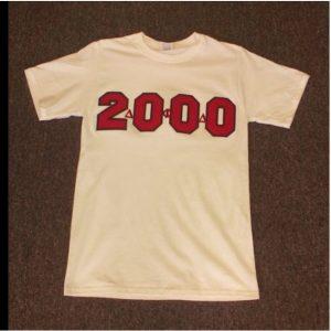 Delta Phi Delta White 2000 T-shirt