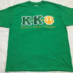 Kappa Kappa Psi (UAB) All-N-1 Green Shirt