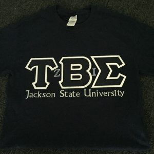 Tau Beta Sigma (JSU)  All-N-1 Navy Blue Shirt