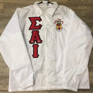 Sigma Alpha Iota White Jacket