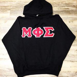 Mu Phi Sigma Black Hoodie