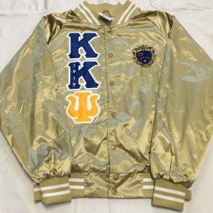 Kappa Kappa Psi Metallic Gold Satin Jacket