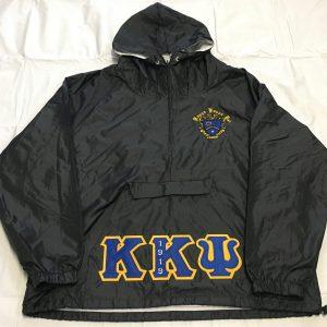 Kappa Kappa Psi Blk Pullover Jacket