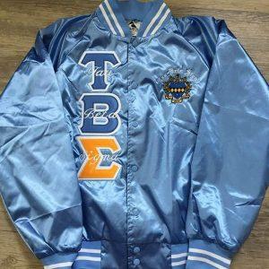 Tau Beta Sigma Lite Blue Satin Jacket
