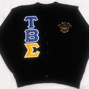 Tau Beta Sigma Blk Cardigan