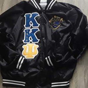 Kappa Kappa Psi Black Satin B/W Trim