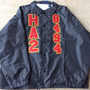 House Arrest 2 Black Jacket Red/Old Gold letters