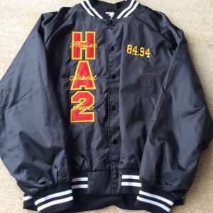 House Arrest 2 Black Satin Jacket