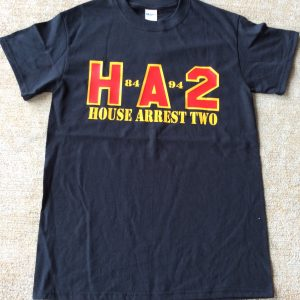 House Arrest 2 Black Heatpress Shirt