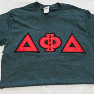 Delta Phi Delta Smoke Grey Shirt