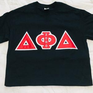 Delta Phi Delta Black Shirt